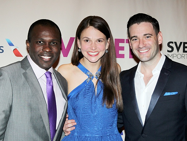 Violet Broadway opening - Joshua Henry - Sutton Foster - Colin Donnell