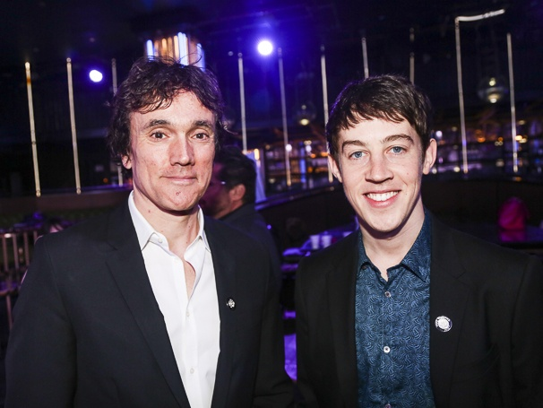 Tony Nominees - Brunch - 4/15 - Ben Miles - Alex Sharp