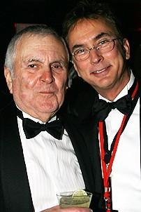 Photo Op - Chicago 10th Anniversary - party - John Kander - Rob Fisher