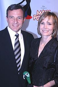 Photo Op - Mary Poppins Opening - Robert Iger - Willow Bay
