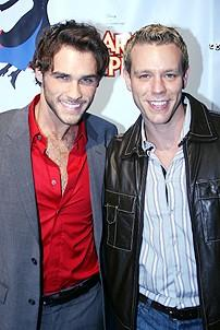 Photo Op - Mary Poppins Opening - Josh Strickland - Adam Pascal