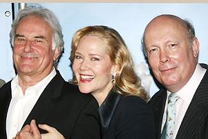 Photo Op - Mary Poppins Opening - Richard Eyre - Rebecca Luker - Julian Fellowes