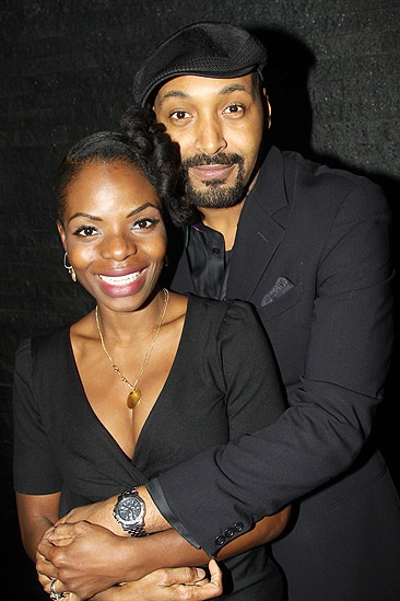 Merchant of Venice Opening night – Marsha Stephanie Blake – Jesse L. Martin