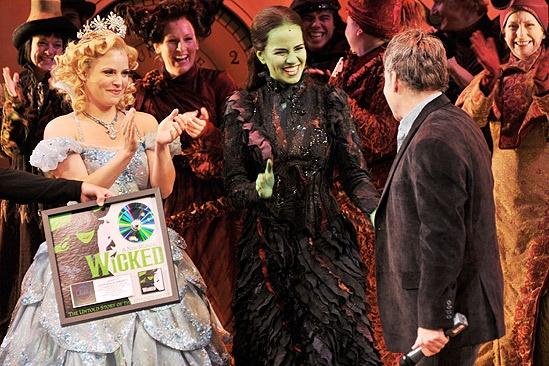 Wicked Cast Recording Goes Double Platinum – Katie Rose Clarke – Mandy Gonzalez – Stephen Schwartz