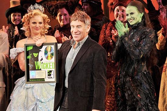 Wicked Cast Recording Goes Double Platinum – Katie Rose Clarke – Stephen Schwartz - Mandy Gonzalez