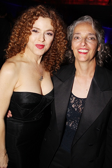 <i>Follies</i> opening night – Bernadette Peters - Patty Saccente
