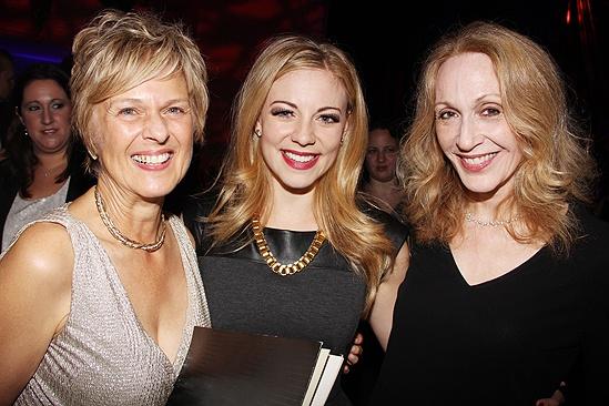 <i>Follies</i> opening night – Virginia Sandifur – Kirsten Scott – Jan Maxwell