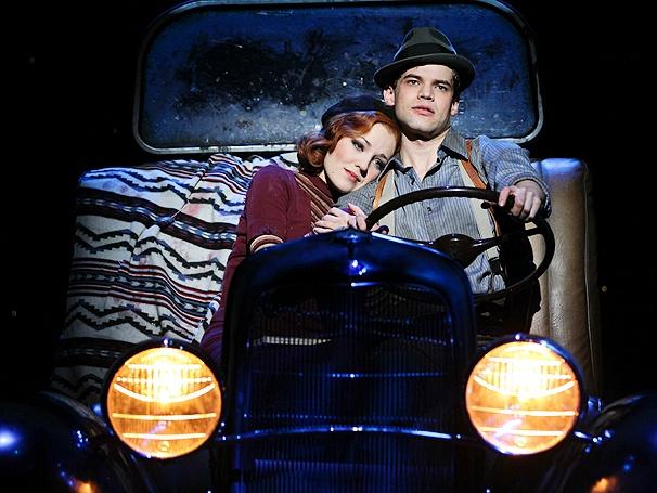 Show Photos - Bonnie & Clyde - Laura Osnes - Jeremy Jordan