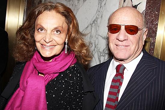 Death of a Salesman - Diane von Furstenberg and husband Barry Diller