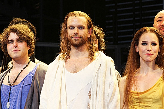 Jesus Christ Superstar opening night – Josh Young – Paul Nolan – Chilina Kennedy