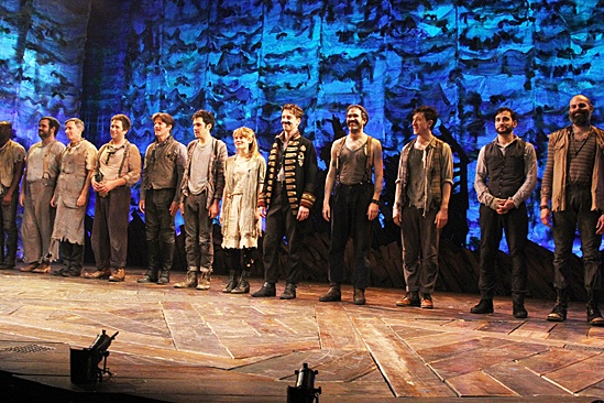Peter and the Starcatcher Opening Night – Curtain Call