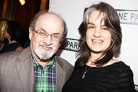 Clybourne Park Opening Night – Salman Rushdie – Pam MacKinnon