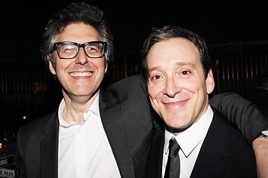 Clybourne Park Opening Night – Ira Glass – Jeremy Shamos