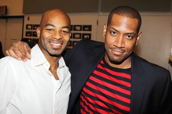 'Motown' Meet and Greet — Brandon Victor Dixon — Bryan Terrell Clark