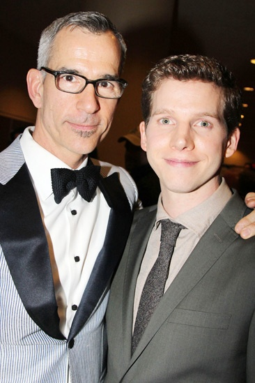 Kinky Boots Opening- Jerry Mitchell- Stark Sands