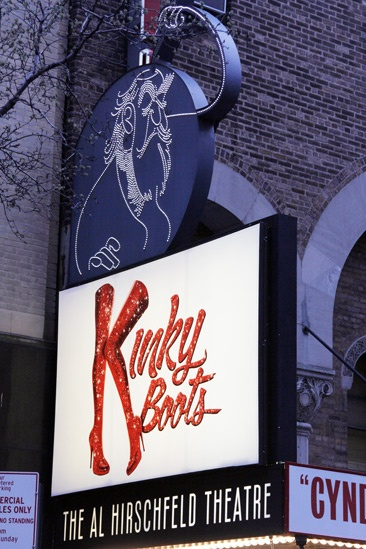 Kinky Boots Opening- Marquee
