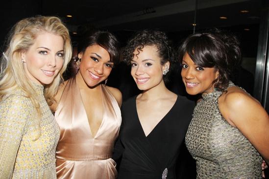 'Motown' Opening Night — Morgan James — Ariana DeBose — Sydney Morton — Marva Hicks