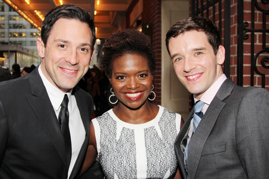 The Trip to Bountiful – Opening Night – Steve Kazee – LaChanze – Michael Urie