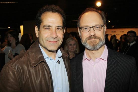2013 Tony Nominee Brunch — Tony Shalhoub — David Hyde Pierce