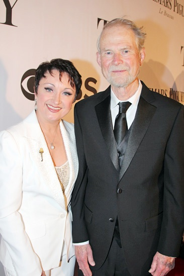 Tony Red Carpet- Caroline O'Connor- husband