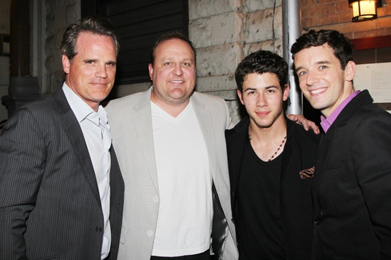 'Buyer & Cellar' Second Opening — Michael Park — Kevin Covert — Nick Jonas — Michael Urie
