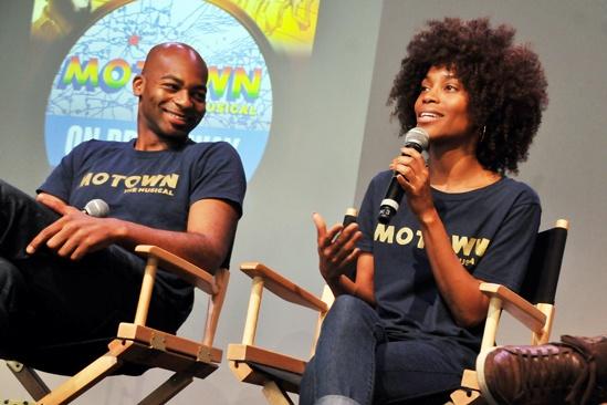 'Motown' at SoHo Apple Store— Brandon Victor Dixon — Valisia LeKae