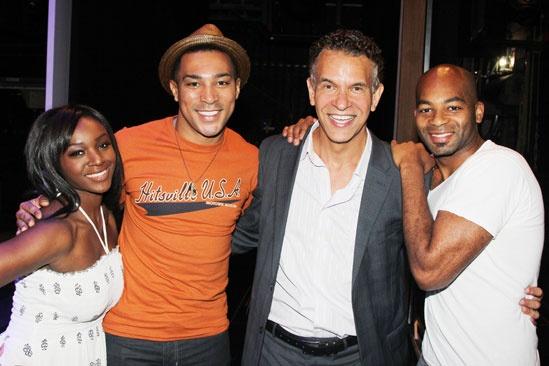 'Motown' Actors Fund — Saycon Sengbloh — Charl Brown — Brian Stokes Mitchell — Brandon Victor Dixon