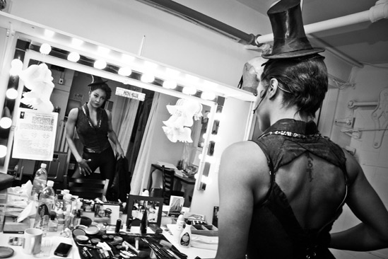 Pippin – Backstage Photos – Patina Miller