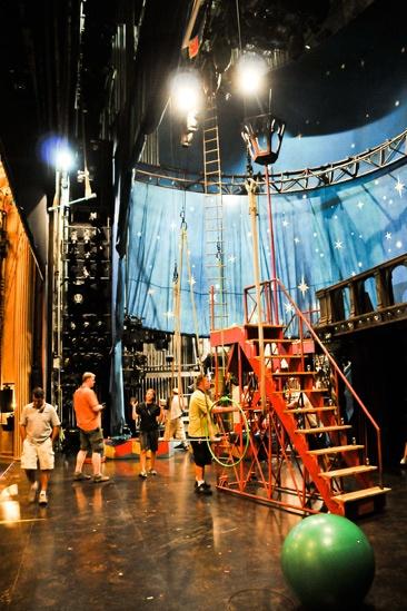 Pippin – Backstage Photos – crew big top