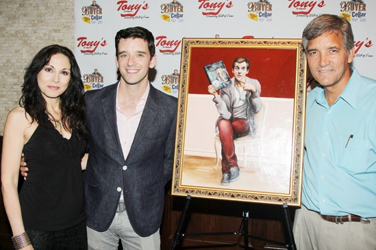 Buyer & Cellar – Michael Urie's Birthday – Valerie Smaldone – Michael Urie – Bruce Dimpflmaier