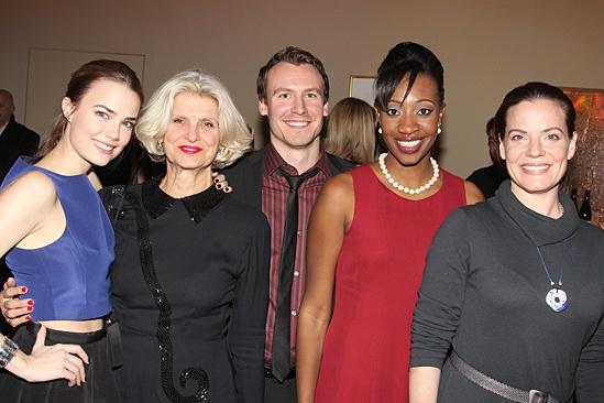The Commons of Pensacola Opening Night – Rebecca Rittenhouse - Maria Celllario - Ben Kahre - Miriam A. Hyman - Danielle Skraastaf