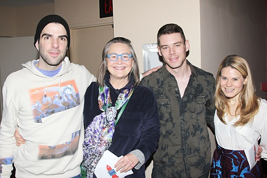 Gypsy of the Year 2013 – Zachary Quinto – Cherry Jones – Brian J. Smith – Celia Keenan-Bolger