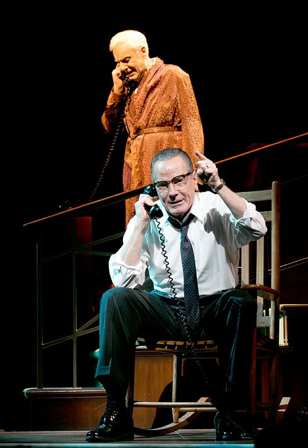 All The Way - Show Photos - John McMartin - Bryan Cranston