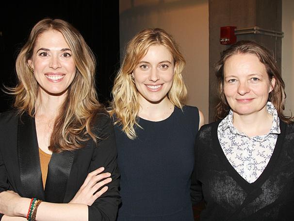 The Village Bike - Meet the Press - OP - 4/14 - Lucy Owen - Greta Gerwig - Cara Seymour