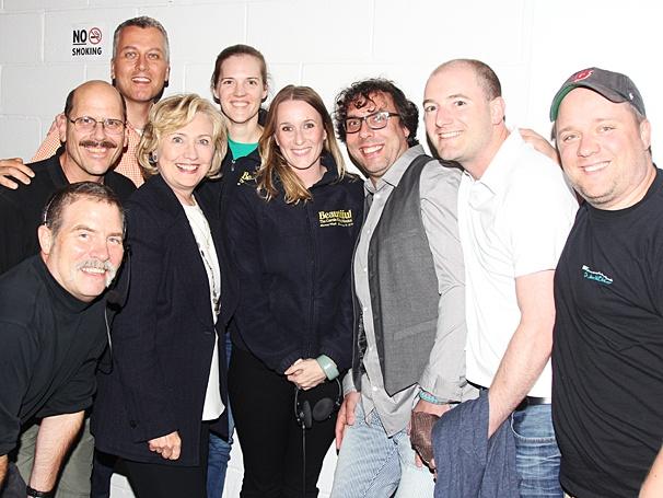 Beautiful - Backstage - Op - 7/14 - Hillary Clinton