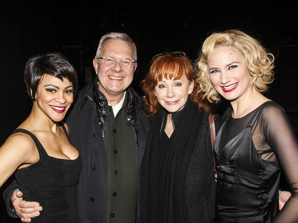Chicago - Backstage - 3/15 - Carly Hughes - Walter Bobbie - Reba McEntire - Jennifer Nettles