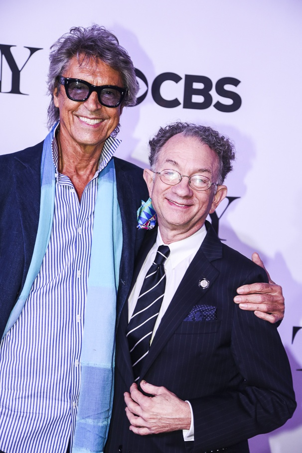 Tony Nominees - Brunch - 4/15 - Tommy Tune - William Ivey Long