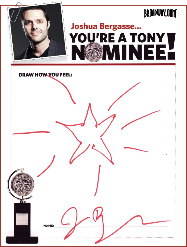 Tony Nominee Drawings – 2015 – Joshua Bergasse