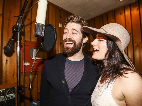 Finding Neverland - Recording - 5/15 - Matthew Morrison - Laura Michelle Kelly