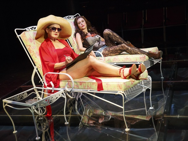 First Daughter Suite - Show Photos - 10/15 - Alison Fraser and Caissie Levy