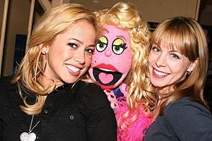 Photo Op - Sabrina Bryan at Avenue Q - Sabrina Bryan - Lucy the Slut - Mary Faber