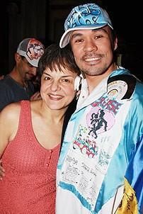 In the Heights Gypsy Robe Ceremony - Michael Balderrama - Priscilla Lopez