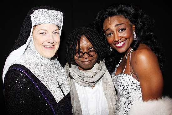 Sister Act Opening Night –  Victoria Clark – Whoopi Goldberg – Patina Miller