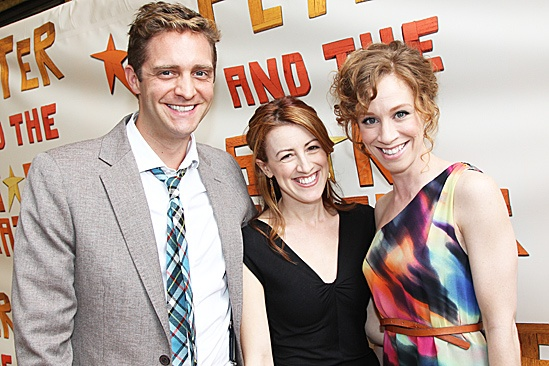 Peter and the Starcatcher Opening Night – Colin Hanlon - Kate Wetherhead – Lindsay Nicole Chambers