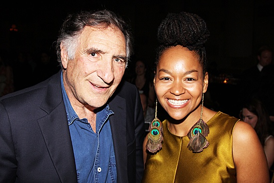 Clybourne Park Opening Night – Judd Hirsch – Crystal A. Dickinson