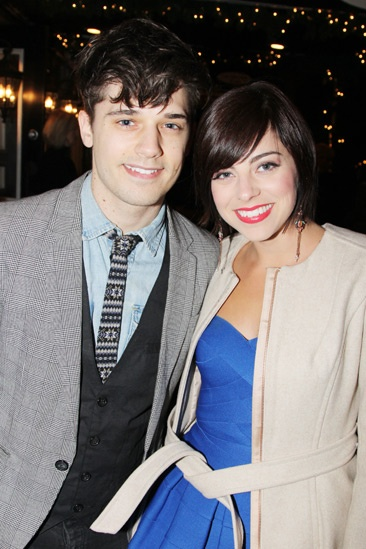 The Performers – opening night – Andy Mientus -  Krysta Rodriguez