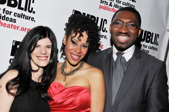 Public Theater Openings — Mandy Hackett — Dominique Morisseau — Kwame Kwei-Armah