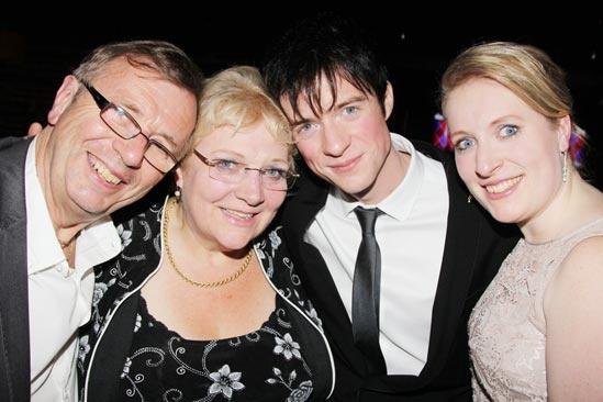 Pippin – Opening Night – Peter Thomas – Linda Thomas – Matthew James Thomas – Katie Thomas