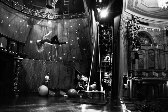 Pippin – Backstage Photos – Molly Tynes