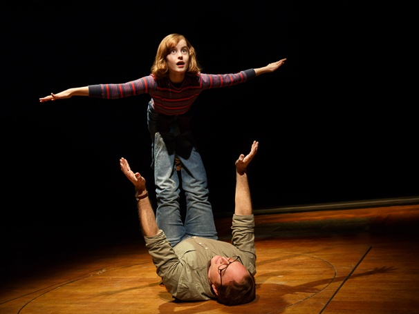 Fun Home - Show Photos - 4/15 - Sydney Lucas - Michael Cerveris